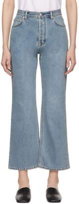 Acne Studios Blue Taguhy Den Jeans