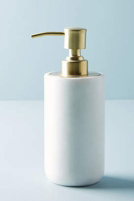 Anthropologie Marble Soap Dispenser