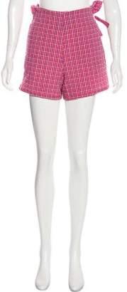 MISA Los Angeles Ruffled Mini Shorts
