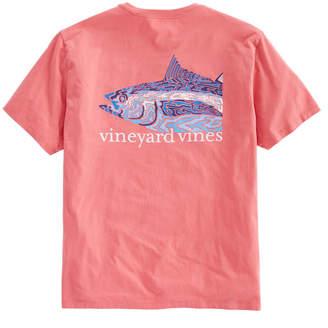 Vineyard Vines Camo Tuna Pocket T-Shirt