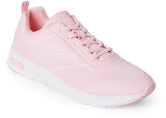 Fila Pink & White Memory Chelsea Knit Sneakers