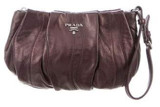 Prada Nappa Waves Clutch