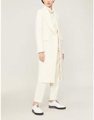 Isabel Benenato Asymmetric double-breasted wool coat