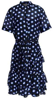 Moschino Ruffled Printed Cotton Dress
