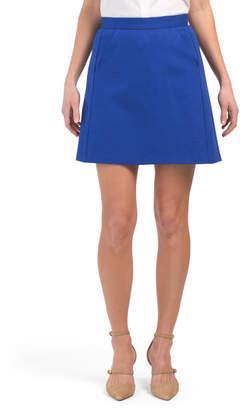 Pleat Pocket Skirt