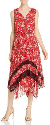 Nanette Lepore nanette Pleated Floral Dress