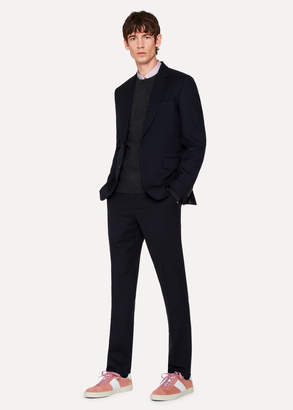 Paul Smith The Soho - Men's Tailored-Fit Navy Wool 'A Suit To Travel In'