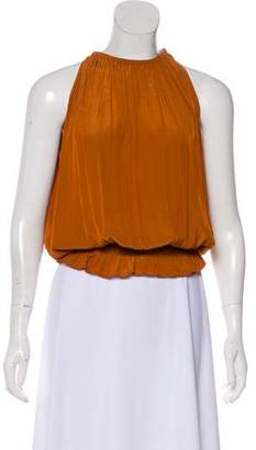 Ramy Brook Pleated Sleeveless Top