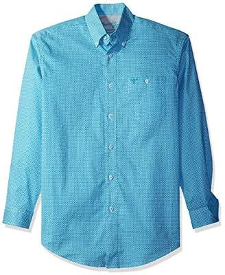 Wrangler Men's 20X Competition One Pocket Long Sleeve Button Down Shirt