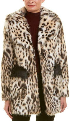 Rachel Roy Fuzzy Coat