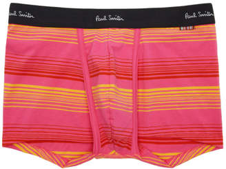 Paul Smith Pink and Yellow Striped Boxer Briefs