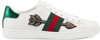 Ace embroidered low-top sneaker $695 thestylecure.com