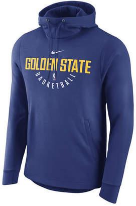 Nike Men's Golden State Warriors Practice Therma Hoodie