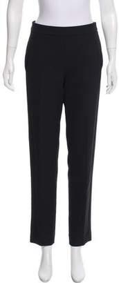 Amanda Wakeley Mid-Rise Straight-Leg Pants