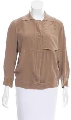Cividini Silk Three-Quarter Sleeve Jacket w/ Tags