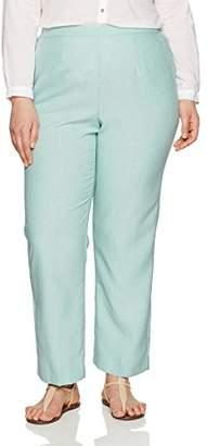 Alfred Dunner Women's Plus Size Short Pant Back Elastic Side Pockets