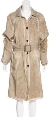 Louis Vuitton Silk Long Coat