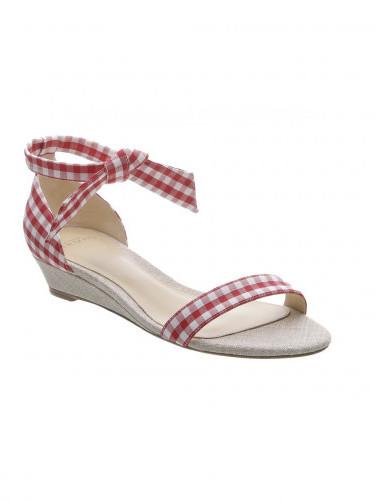 Alexandre BirmanAlexandre Birman 'Clarita Gingham' wedge sandals