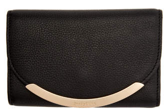 See by Chloe Black Square Foldover Wallet
