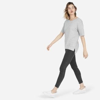 The Cotton Drop-Shoulder Tee $22 thestylecure.com