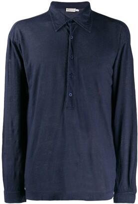 Giorgio Armani Pre-Owned 1990's longsleeved polo shirt
