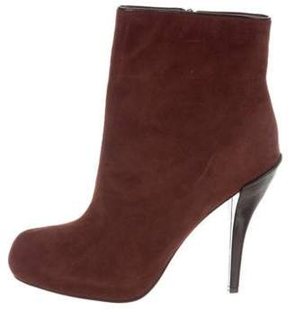 Jean-Michel Cazabat Suede Pointed-Toe Boots