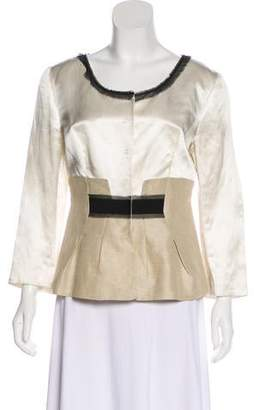 Philosophy di Alberta Ferretti Silk Lightweight Jacket
