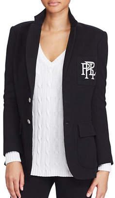 Polo Ralph Lauren Knit Cotton Blazer
