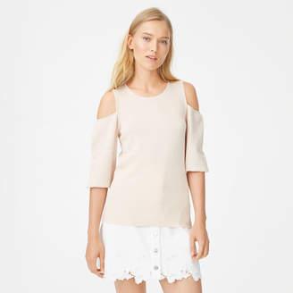 Club Monaco Gracella Cold-Shoulder Sweater