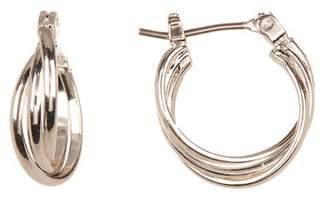 Joe Fresh Twist Hoop Earrings