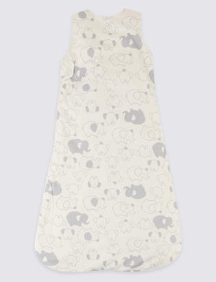 Marks and Spencer Organic Cotton 1.3 Tog Face Sleeping Bag