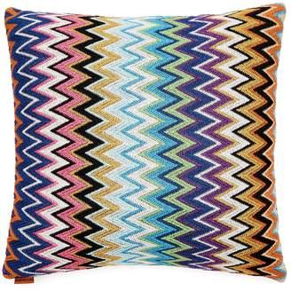 Missoni Home Vladimiro zigzag-knit cushion