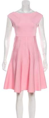 Christian Dior Bateau Neck Knee-Length Dress