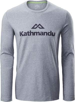 Kathmandu Logo Mens Long Sleeve T-Shirt