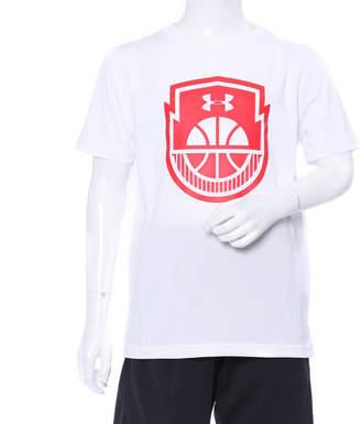 Under Armour (アンダー アーマー) - アンダーアーマー UNDER ARMOUR ジュニア バスケットボール 半袖Tシャツ UA Tech Y Basketball Icon 1313543
