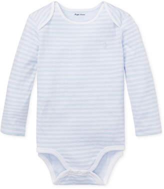 Polo Ralph Lauren Ralph Lauren Baby Boys Striped Jacquard Bodysuit