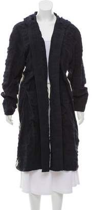 Hache Hooded Long Coat