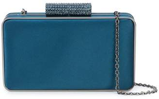 Inge Christopher embellished lock clutch