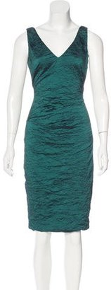 Nicole Miller Textured Midi Dress w/ Tags $95 thestylecure.com