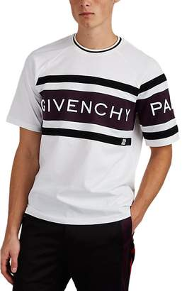 Givenchy Men's Logo Colorblocked Cotton Jersey T-Shirt
