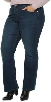 8aceed88f01 Apt. 9 Plus Size Embellished MidRise Bootcut Jeans