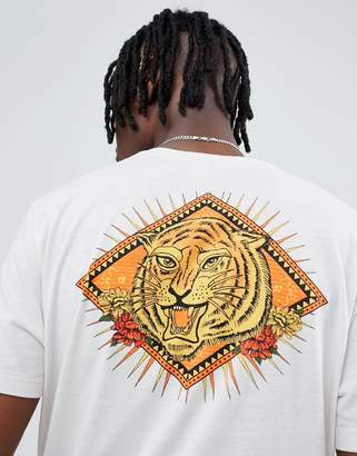 Asos DESIGN relaxed t-shirt with tiger back print