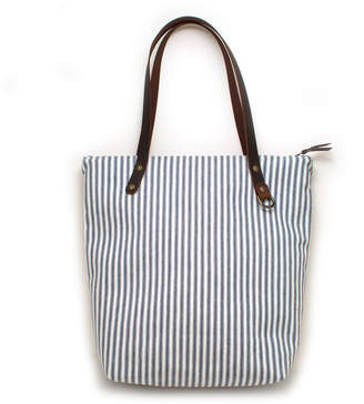 General Knot & Co Vintage Chesapeake Ticking Stripe Portfolio Tote