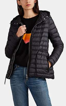 Moncler Women's Raie Down-Quilted Tech-Taffeta Puffer Jacket - Black