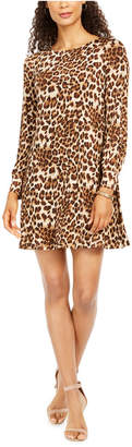 Jessica Howard Animal-Print Shift Dress