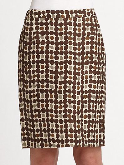 Max Mara Weekend Fabia Straight Skirt