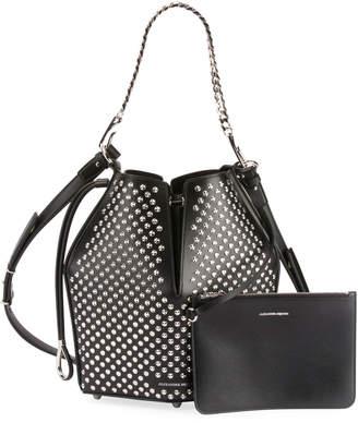 Alexander McQueen The Bucket Studded Shoulder Bag