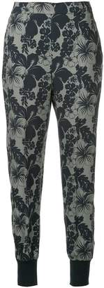 Stella McCartney Hibiscus print trousers