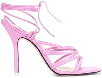 ATTICO strappy stiletto heels