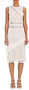 Sea WOMEN'S COTTON-BLEND LACE DRESS-WHITE SIZE 4